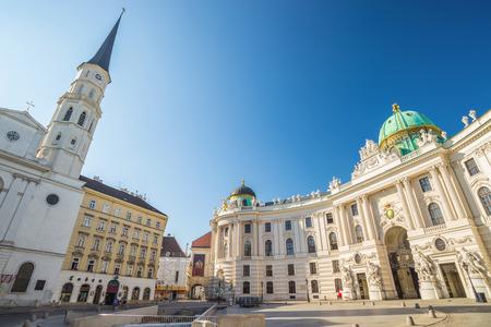 hofburg: Michaelerplatz and Hofburg palace - Vienna - Austria �ditoriale