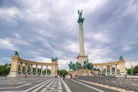 budapest: Heroes Square - Budapest - Hungary