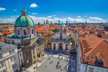 Prague city skyline - Czech Republic