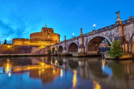 rome italy: Castel SantAngelo - Rome - Italy