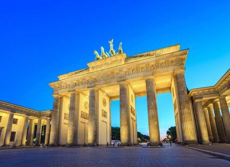 brandenburg: Brandenburg Gate at night - Berlin - Germany