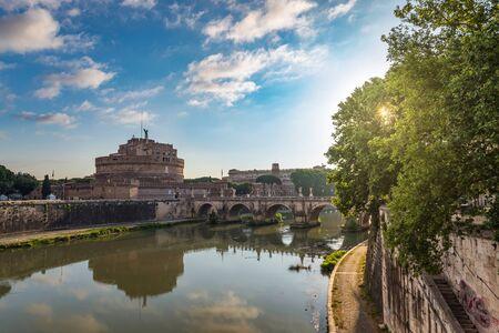 castel: Castel SantAngelo - Rome - Italy