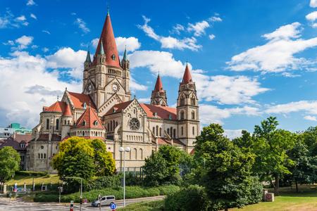 Saint Francis of Assisi Church - Vienna - Austria Standard-Bild