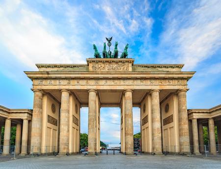 Brandenburg Gate - Berlin - Germany Standard-Bild