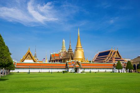 temple thailand: Wat Phrakaew Temple, Bangkok, Thailand