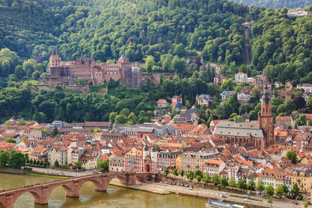 heidelberg: Heidelberg city skyline, Germany