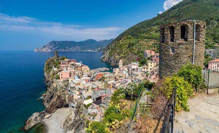 cinque: Vernazza village, Cinque Terre, Italy