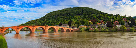 heidelberg: Heidelberg panorama city skyline, Germany Stock Photo