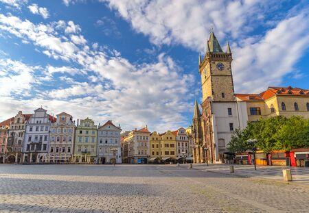 Old Town Square, Praga, Republika Czeska Zdjęcie Seryjne