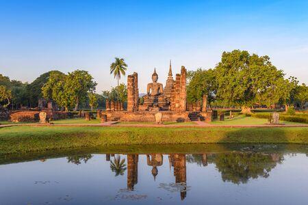 historical landmark: Sukhothai Historical Park , Thailand