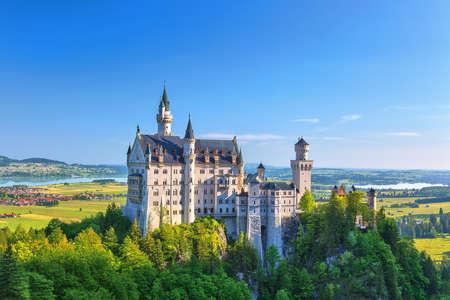 neuschwanstein: Neuschwanstein Castle, Fussen, Germany Editorial