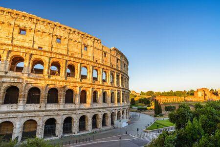 colosseum: Rome Colosseum Stock Photo