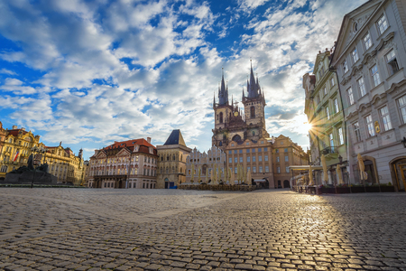 old town square: Old town square, Prague, Czech Republic