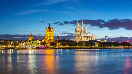 Cologne panorama city skyline, Germany