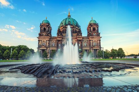 dom: Berlin Cathedral or Berlin Dom, Berlin ,Germany Banque d'images