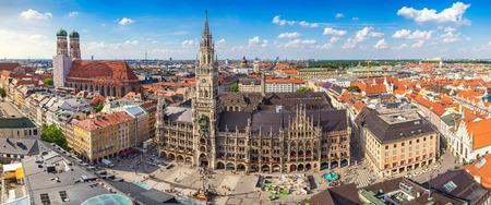 München Stadt Skyline Panorama, München, Deutschland Standard-Bild - 67198206