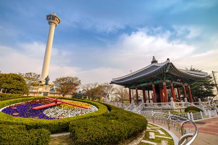 Busan Tower,  Busan, Korea Imagens - 74173131