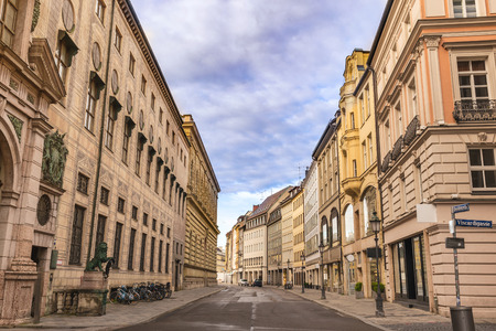 Munich Germany, Residenz Street the fomous shopping area