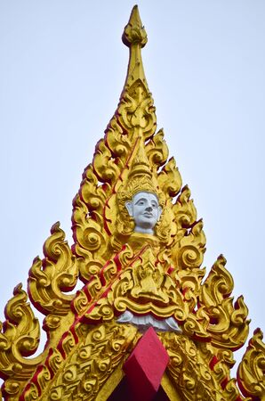statue in temple thailand Stock Photo