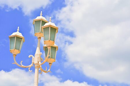 lamp and sky Stock Photo - 10597603