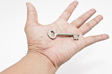 key on hand Stock Photo - 10661316