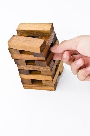 disassemble: destroy puzzle wood