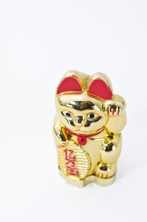 maneki: golden lucky cat