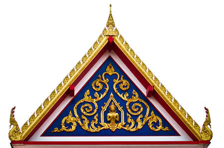The art of building in Thai temple2 Stock Photo - 10978096