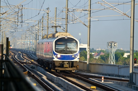 thailand airport link electric train