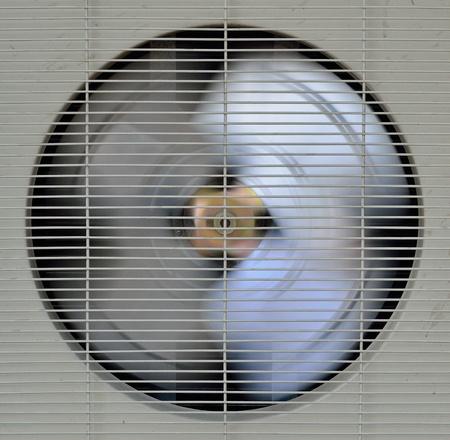spining fan of aircompressor Stok Fotoğraf