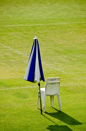 the referee chair of tennis court Stock Photo - 13918029