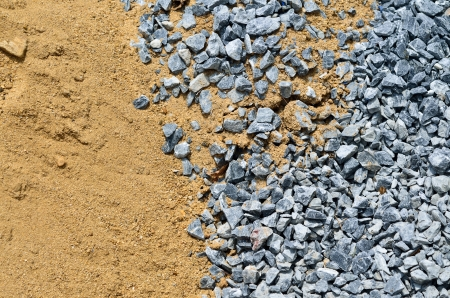 rock and sand prepare for building Stock Photo - 13918030