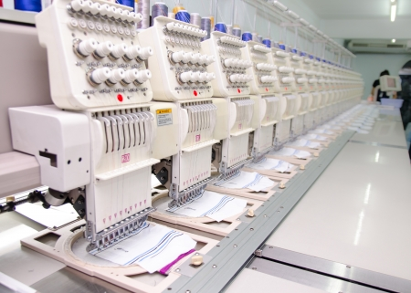 sewing industry equipment and materials