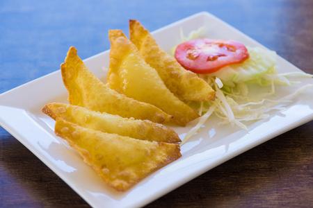 Thai fried dumpling