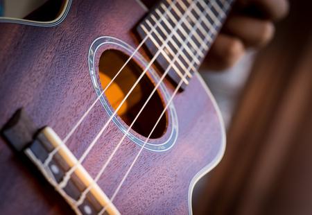 closed up ukulele