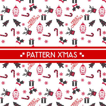 scandynavian: christmas pattern