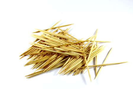 inter: Many of the toothpick on a white background Stock Photo
