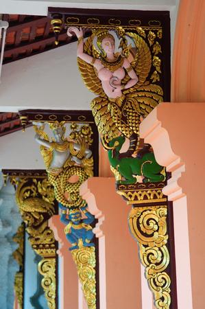 believes: Angel at Wat Pha Dara Bhirom Temple (Chiangmai, Thailand)