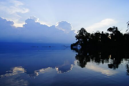 Songkhla lake was blue.A public place. The park can take pictures to publish. photo