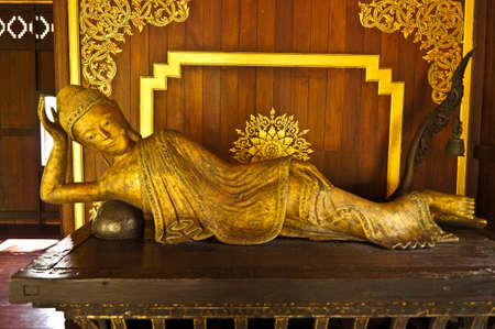 Old buddha thailand Stock Photo - 11961694