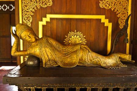 Old buddha thailand Stock Photo - 11961694