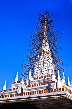 Pagoda in Buddhism. photo