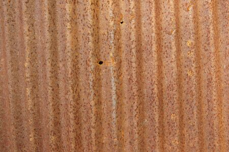 Old zinc sheet Fill with beautiful rust Stock Photo - 12381020