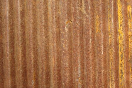 Old zinc sheet Fill with beautiful rust Stock Photo - 12381048