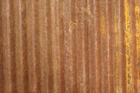 Old zinc sheet Fill with beautiful rust Stock Photo - 12381048