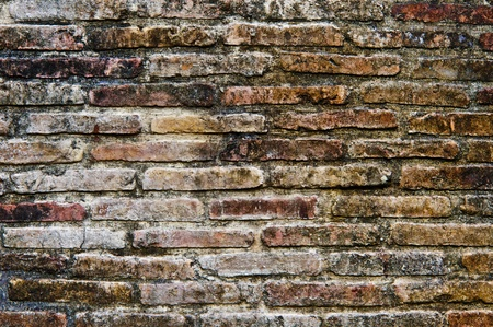 Ancient brick wall Stock Photo - 12639362