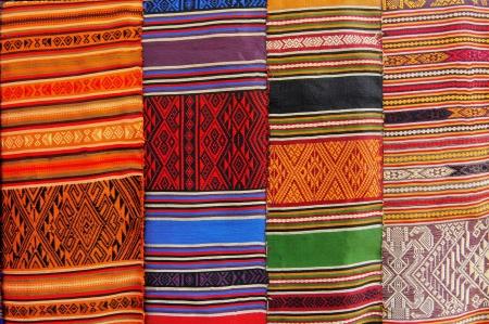 Hand woven fabrics Stock Photo - 13802985