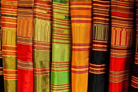 hand woven: Tessute a mano Archivio Fotografico