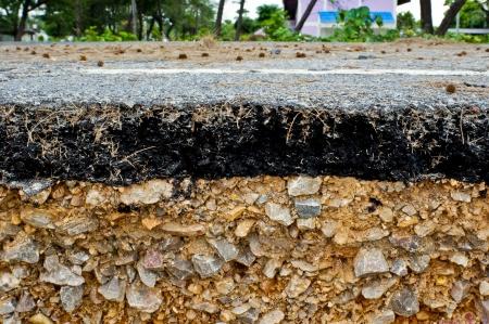 Road damage from sea erosion