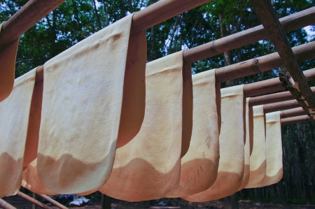 Dried rubber sheet For use in industry